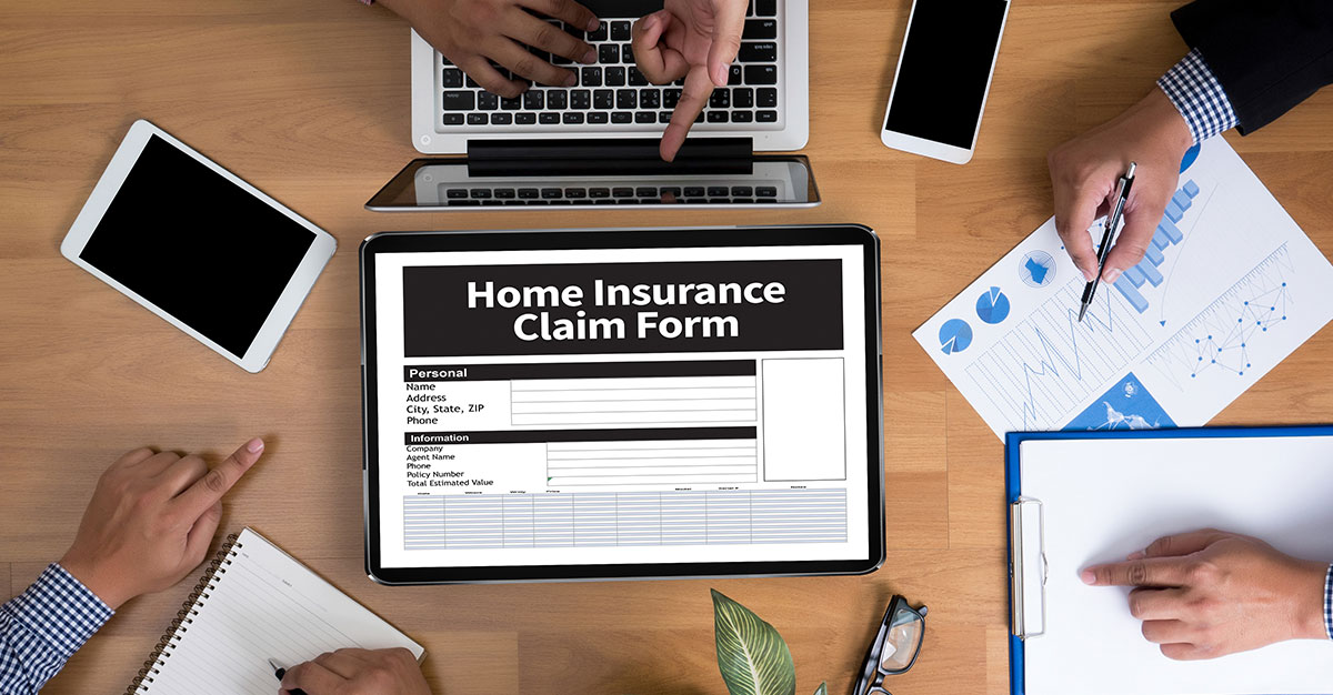 When will a home insurance company deny a claim for damage ...