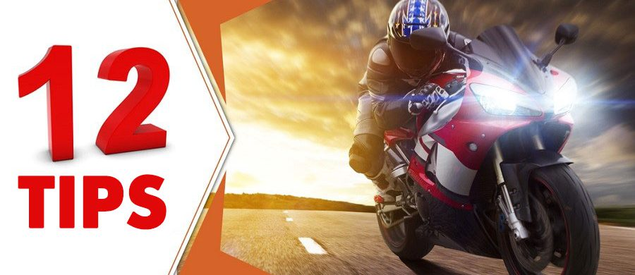 Learn the 12 important tips on saving on motorcycle insurance today