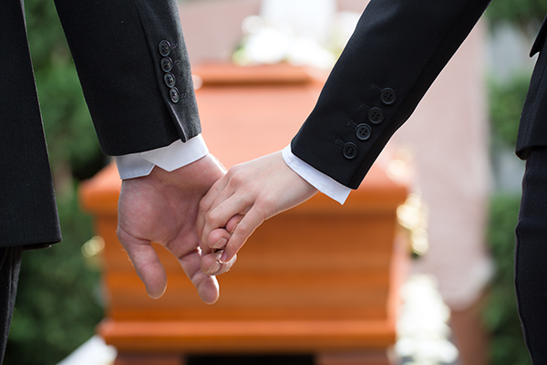Life insurance benefits will cover funeral expenses in the death of a loved one